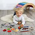 """Набір магнітних пазлів Magdum """"Baby puzzle"""" ML4031-62 EN, фото 6"""