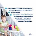 """Дитячий набір м'яких кубиків """"М'який конструктор"""" МС 090602-01, фото 4"""