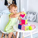 """Дитячий набір м'яких кубиків """"М'який конструктор"""" МС 090602-01, фото 5"""