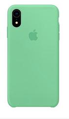 "Apple silicon case iPhone XR "" Spearmint """