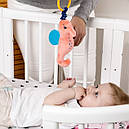 """Детская виброподвеска на кроватку или коляску """"Морской конек"""" МС 110604-01, фото 2"""