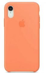 "Apple silicon case iPhone XR "" Papaya """