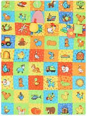 Развивающий игровой коврик МС 040601-01