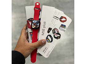 Smart Watch М16 Plus Червоний