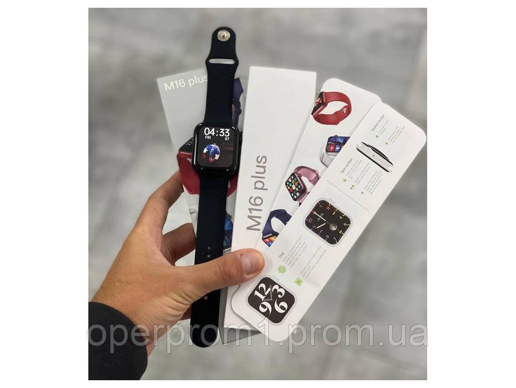 Smart Watch М16 Plus Черный