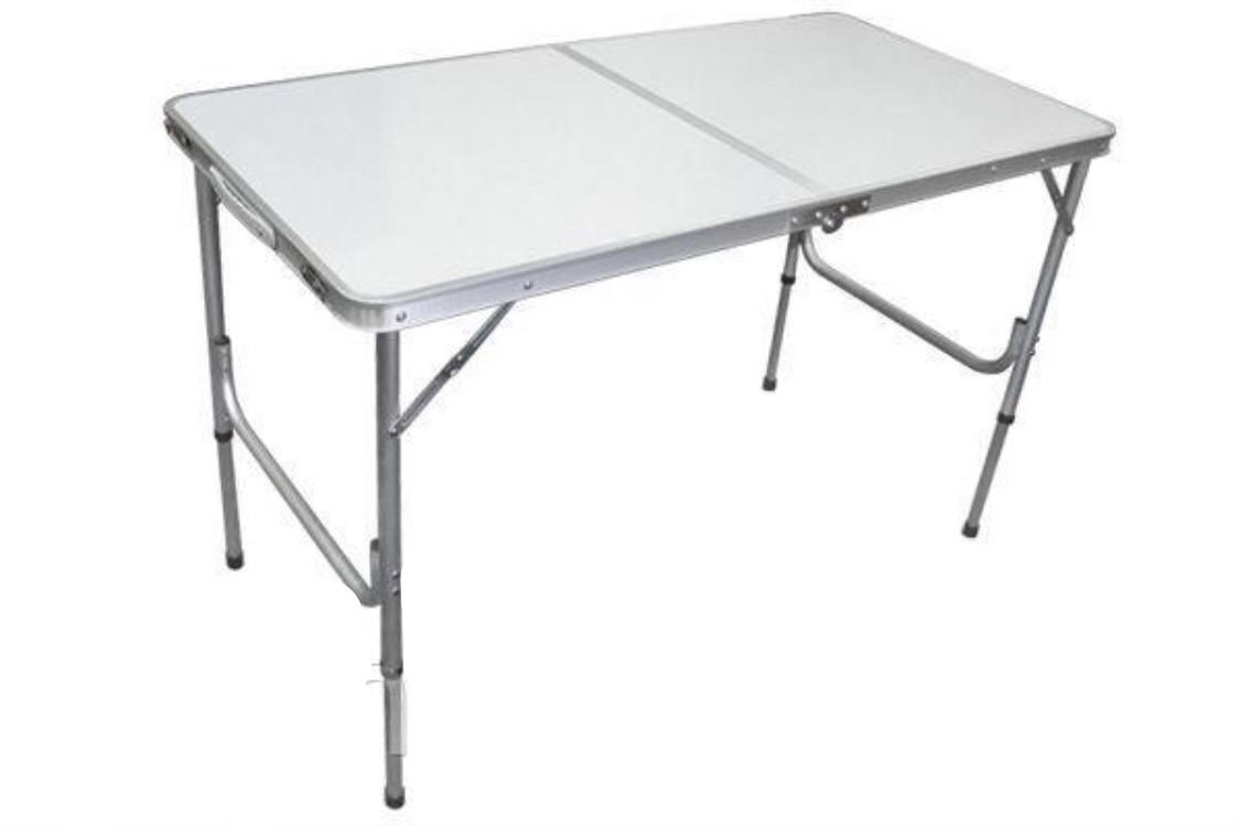 Туристичний розкладний стіл для пікніка та туризму Білий