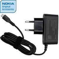 Сетевое зарядное устройство Nokia AC-10E, 1200 mAh, Original черный /сзу/зарядка/зарядное /нокиа/Оригинальное