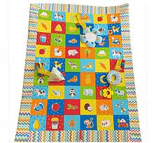 Коврик для игры и развития с подвесными игрушками. Животные МС 040201-05