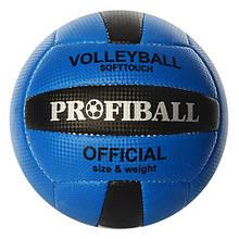 Мяч волейбольный 1107 18 панелей (Синий)