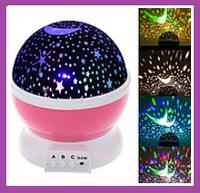 Ночник-проектор Star Master в форме шара со шнуром USB Детский вращающийся ночник-проектор звездное небо