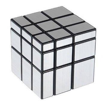 Дзеркальний кубик 3х3 QiYi Mirror cube срібло