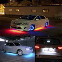 Подсветка в автомобиль, подсве...