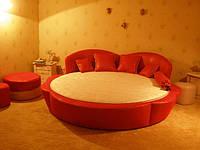 Круглая кровать (кровать круглая) —гордость спальни.