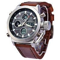 Наручні чоловічі годинники AMST | армійські водонепроникні кварцові годинники, наручний годинник (Гарантія