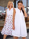 Платье-трапеция из прошвы ЛЕТО, фото 5