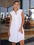 Платье-трапеция из прошвы ЛЕТО, фото 4