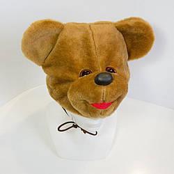 Дитяча маскарадна шапочка Zolushka ведмідь коричневий (ZL2371)