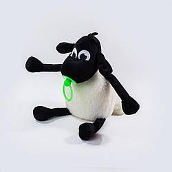 М'яка іграшка Weber Toys Баранець Тіммі 36см зелена соска (WT5121)