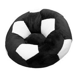 Дитяче Крісло Zolushka м'яч велике 78см чорно-біле (ZL2973)