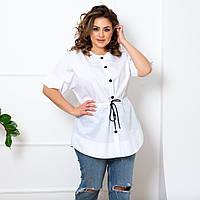 Жіноча сорочка великого розміру.Розміри:50/64+Кольору, фото 1