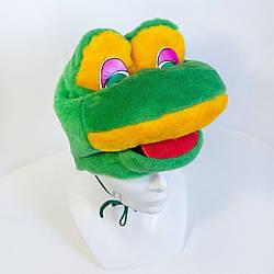 Дитяча маскарадна шапочка Zolushka жаба (ZL229)