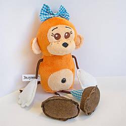 М'яка іграшка Zolushka Мавпочка Чічі дівчинка 30см (ZL602)