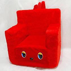 Дитячий Стільчик Zolushka 43см червоний (ZL2172)