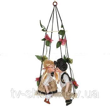 """Набор фарфоровых кукол """"ДЕТКИ"""", 2 пр., 30 см (4 вида)"""