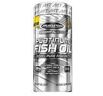 Рыбий жир MuscleTech Platinum 100% Fish Oil (100 softgels)