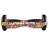 ГИРОСКУТЕР SMART BALANCE PREMIUM PRO 8 дюймів Wheel Помаранчевий хіп хоп TaoTao APP автобаланс, гироборд, фото 3