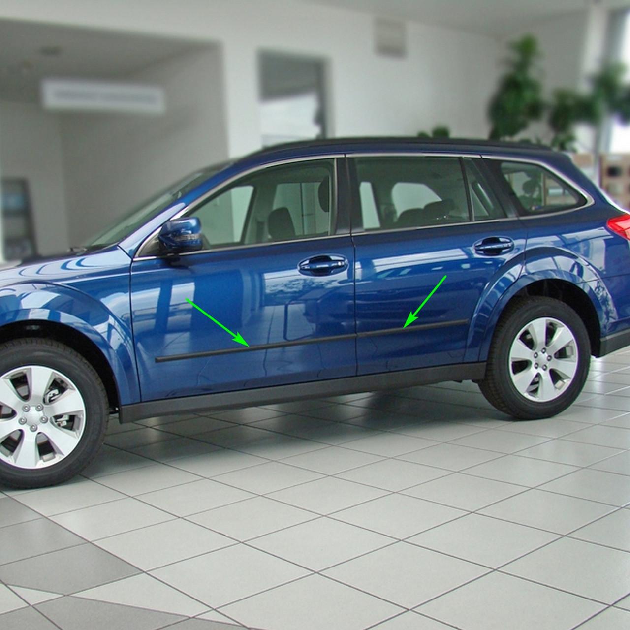 Молдинги на двері для Subaru Outback 2009-2014