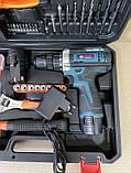 Шуруповерт Bosch TSR18-2Li (18v 2ah) з набором інструментів (97 од.) шуруповерт бош, фото 8