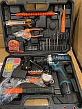 Шуруповерт Bosch TSR18-2Li (18v 2ah) з набором інструментів (97 од.) шуруповерт бош, фото 3