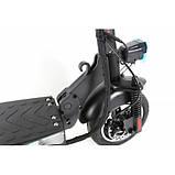 """Електросамокат Crosser T4 AIR 10"""" з сидінням (1000вт, 12500 mAh) складаний електричний самокат кросер т4, фото 4"""
