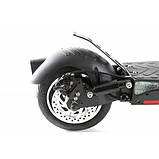 """Електросамокат Crosser T4 AIR 10"""" з сидінням (1000вт, 12500 mAh) складаний електричний самокат кросер т4, фото 7"""