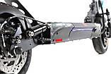 """Електросамокат Crosser T4 AIR 10"""" з сидінням (1000вт, 12500 mAh) складаний електричний самокат кросер т4, фото 9"""