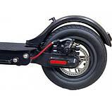 "Електросамокат Crosser E9 Premium (перфорація) 10"" - Чорний (1000вт, 7500 mAh) електричний самокат кросер е9, фото 6"