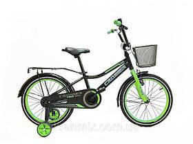Велосипед детский двухколесный Rocky Crosser-13 с корзинкой и багажником