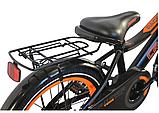 Велосипед дитячий двоколісний Rocky Crosser-13 з кошиком і багажником, фото 4