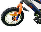 Велосипед детский двухколесный Azimut Stitch, фото 6