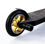 Трюковый самокат с пегами для прыжков Crosser Titan 4.7, 120 мм, самокат для трюков, фото 3