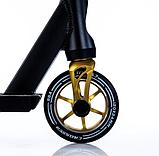 Трюковый самокат с пегами для прыжков Crosser Titan 4.7, 120 мм, самокат для трюков, фото 4