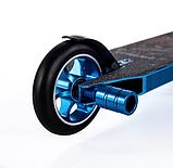 Трюковый самокат с пегами для прыжков Crosser Titan 4.7, 120 мм, самокат для трюков, фото 5