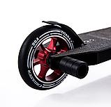 Трюковый самокат с пегами для прыжков Crosser Titan 4.7, 120 мм, самокат для трюков, фото 7
