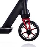 Трюковый самокат с пегами для прыжков Crosser Titan 4.7, 120 мм, самокат для трюков, фото 10