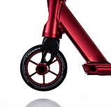 Трюковый самокат с пегами для прыжков Crosser GHOST, 110 мм, самокат для трюков, фото 4