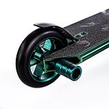 Трюковый самокат с пегами для прыжков Crosser GHOST, 110 мм, самокат для трюков, фото 7