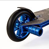 Трюковий самокат з пегами для стрибків Crosser GHOST, 110 мм, самокат для трюків, фото 9