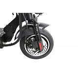 """Электросамокат Crosser T4 AIR 10"""" c сиденьем 16000 mAh электрический складной самокат кросер т4, фото 8"""