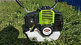 Бензиновая мотокоса 2-х тактная Viper CG-430B триммер бензиновый, бензотриммер, бензокоса, фото 3